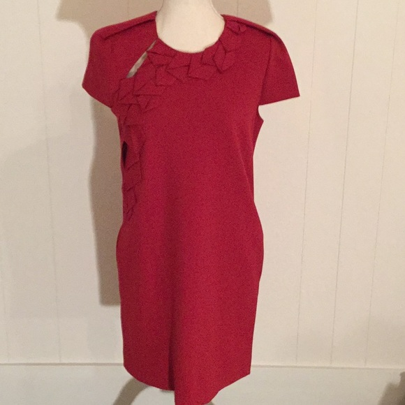 Vivienne Tam Red Knit Dress NWT